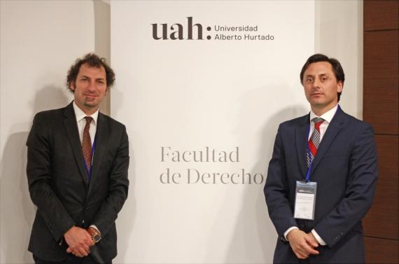 Prof. Alfredo Ferrante y Sr. Lucas Del Villar